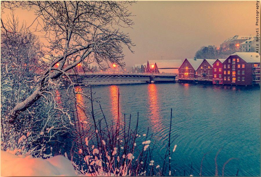 Trondheim, Norway by Aziz Nasuti on 500px