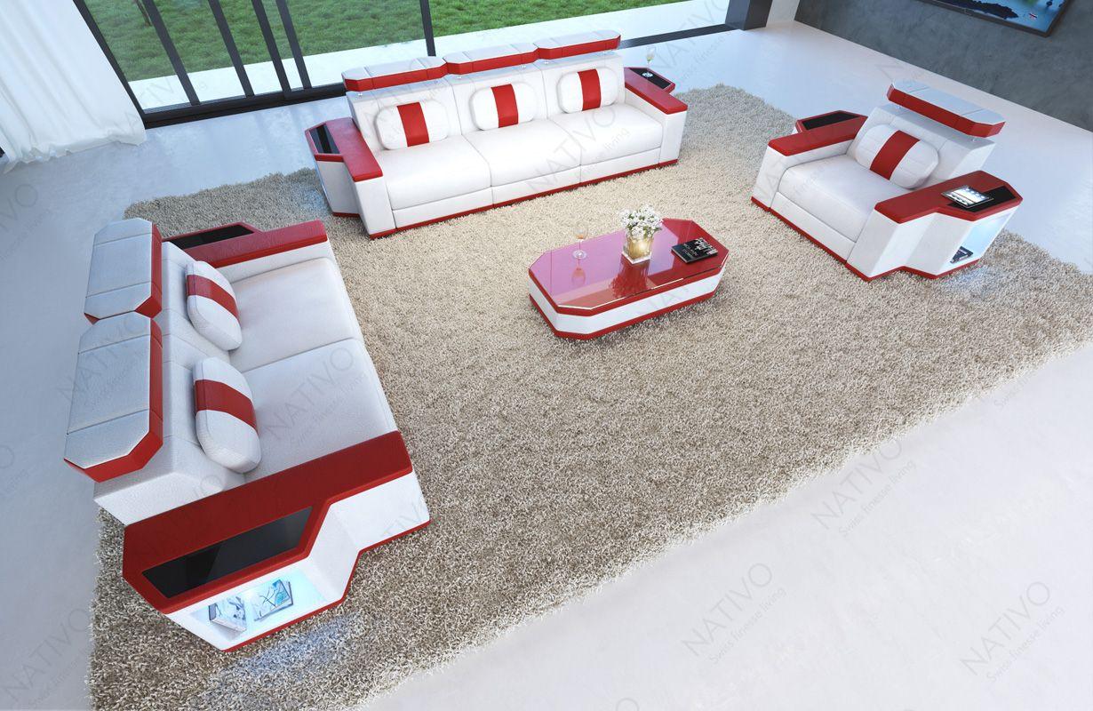 Bankstel Design Bank.Bankstel Lederenbanken Design Nativomeubels Nl Nativo