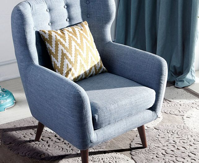 Fabric Armchair Fabric Armchairs Armchairs Sofas Armchairs Living Room Furniture Furniture Arm Chairs Living Room Living Room Singapore Furniture