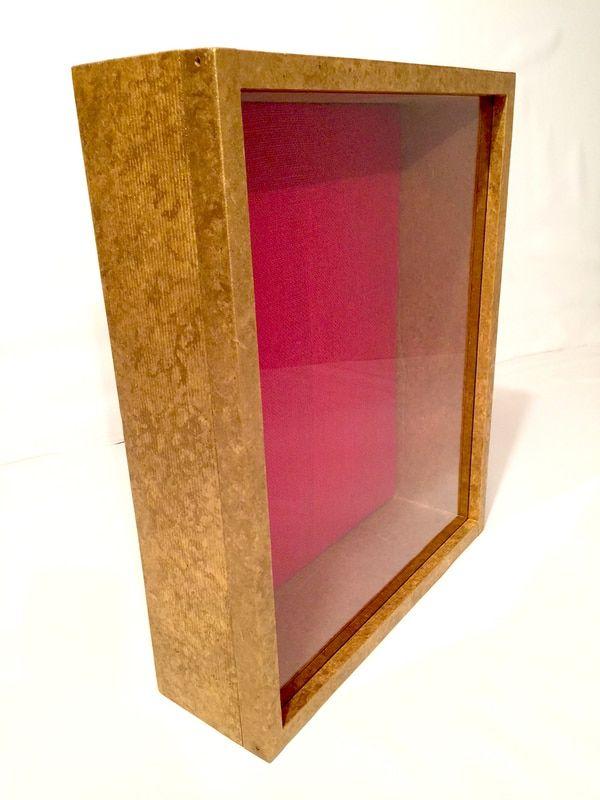 16x20 Shadow Box - EXTRA Deep Shadow Box, 4 Inches Deep | Burnished ...
