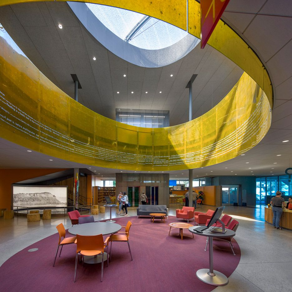 Billings Public Library Montana By Will Bruder Partners Ltd With O2 Architects Winner Of The 2016 AIA Awards