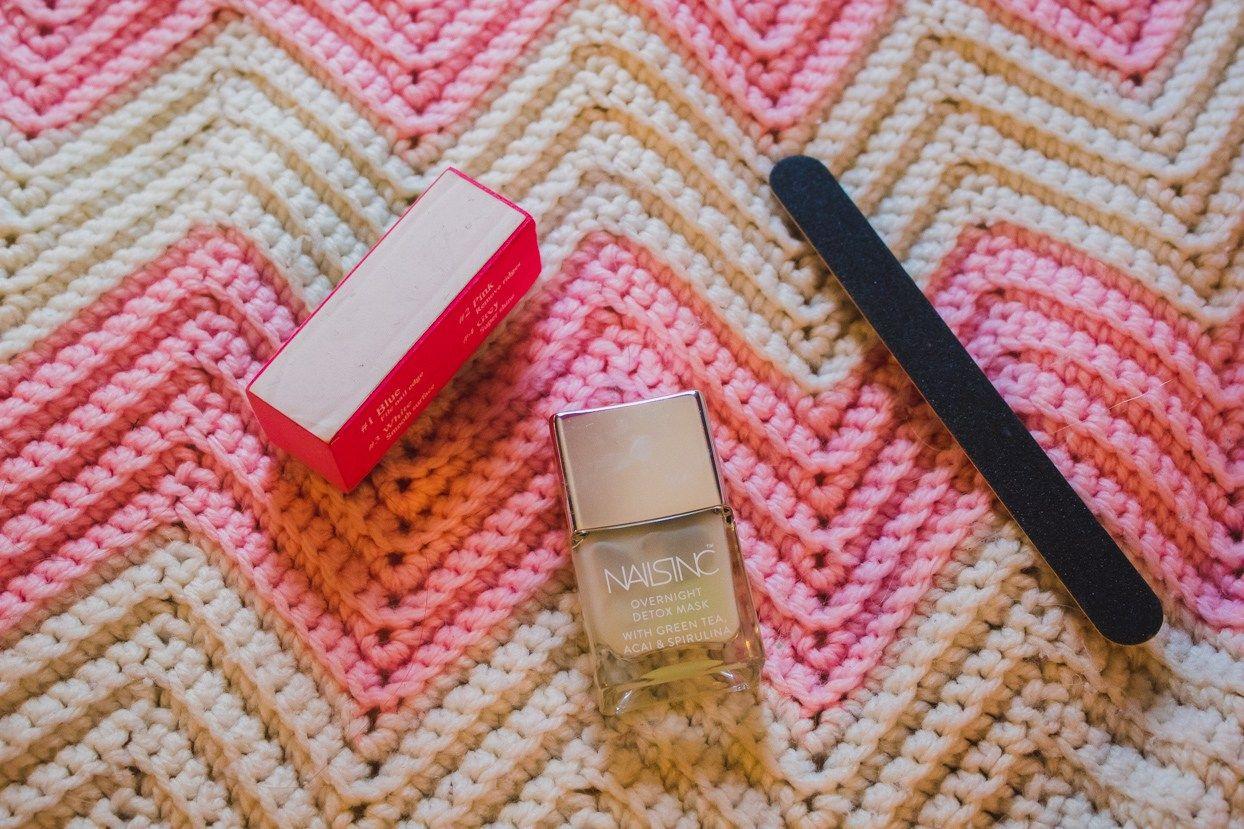 Review Nails Inc. Overnight Detox Mask Overnight detox