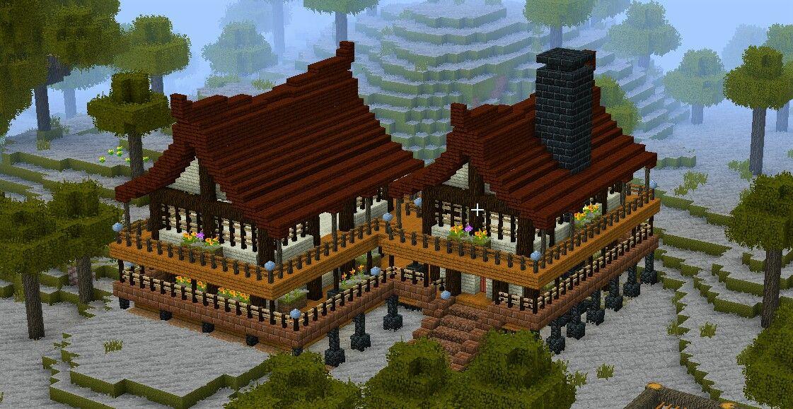 Tfc Japanese House Minecraft Japanese House Minecraft