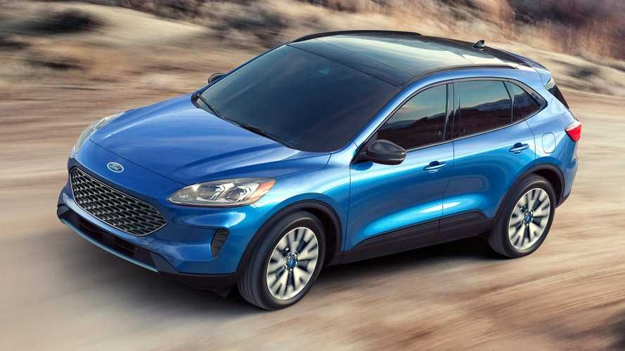 2020 Ford Escape Debuts With Whole New Look Two Hybrid Choices Ford Escape