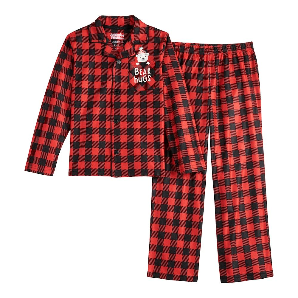 Unisex 4 14 Jammies For Your Families Cool Bear Top Bottoms