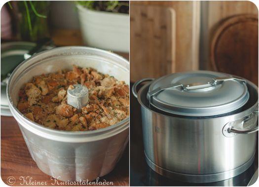 Semmelknödel-Guglhupf mit Champignon-Ragout | Kleiner Kuriositätenladen | Bloglovin'