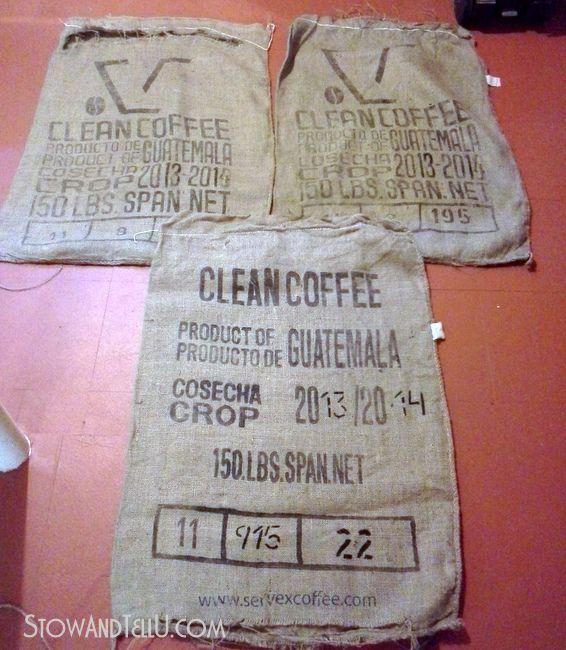 Tips For Washing And Drying Coffee Sacks Coffee Sacks Burlap