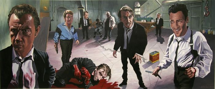 Reservoir Dogs, Justin Reed, Movie Art