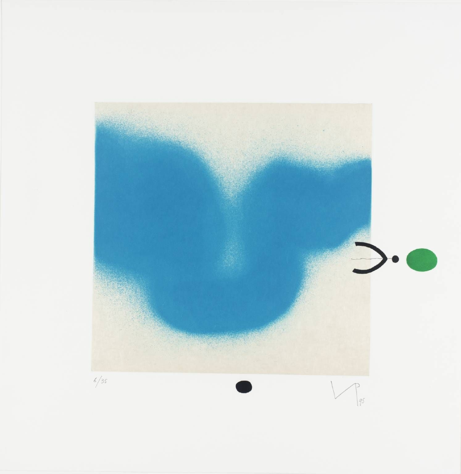 Victor Pasmore 'Magic Eye 5', 1995 © Tate