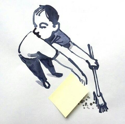 Christoph Niemann İlginçYaratıcıGüzel Pinterest Christoph - Creative comical paper drawings