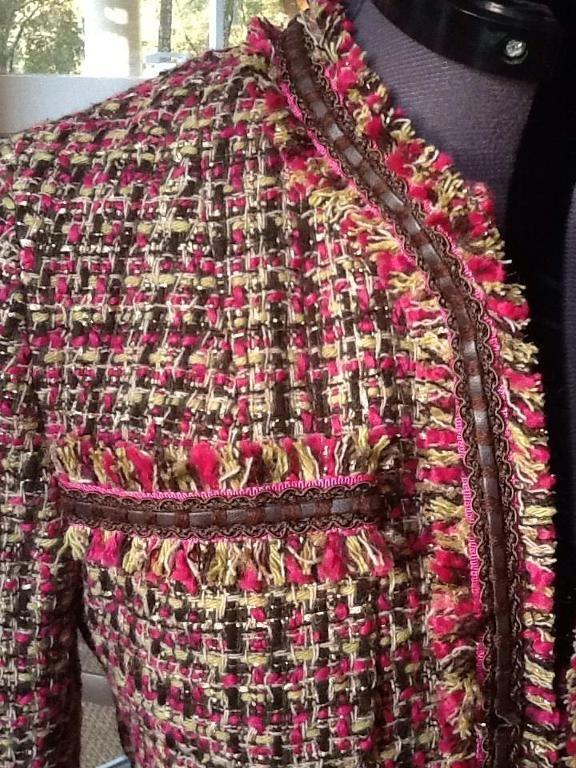 Sew Tailored Making Steps Jacket To A 6 How Fringe For Fringe 5Czawqn