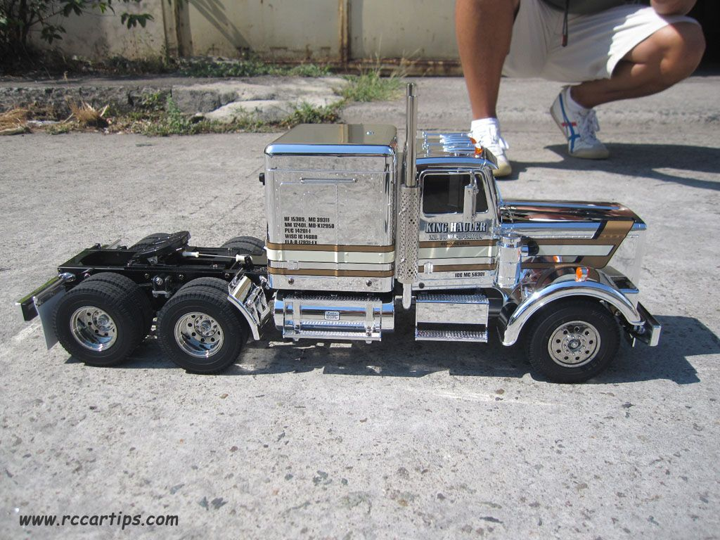 Here are some of the most beautiful realistic and scale looking radio controlled r c cars and trucks big rigs like the tamiya king hauler and highlifts