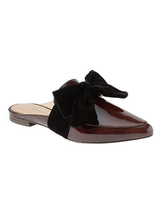 BR bordeaux patent leather & black velvet bow   Shoes   Pinterest ...