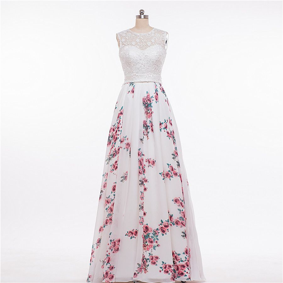 Cheap Dress Xxxxl Buy Quality Gown Wedding Directly From China Patterns Evening Gowns Suppliers MDBRIDAL Floral Printed Prom 2016 Lace
