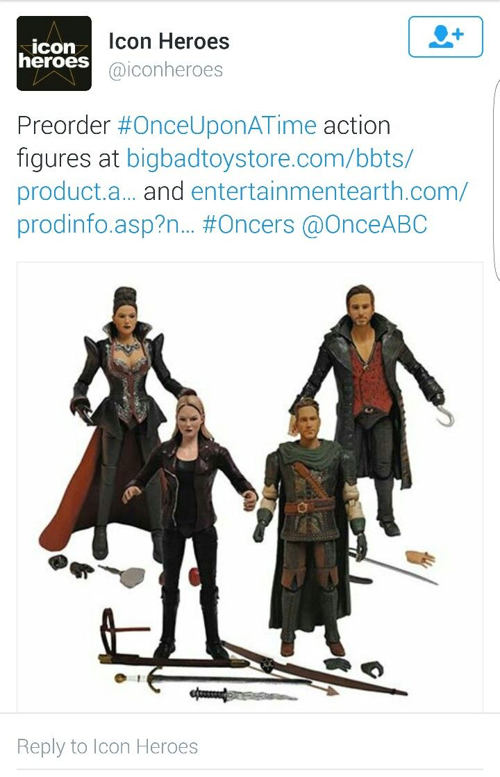 Regina Action Figure Icon Heroes Once Upon A Time