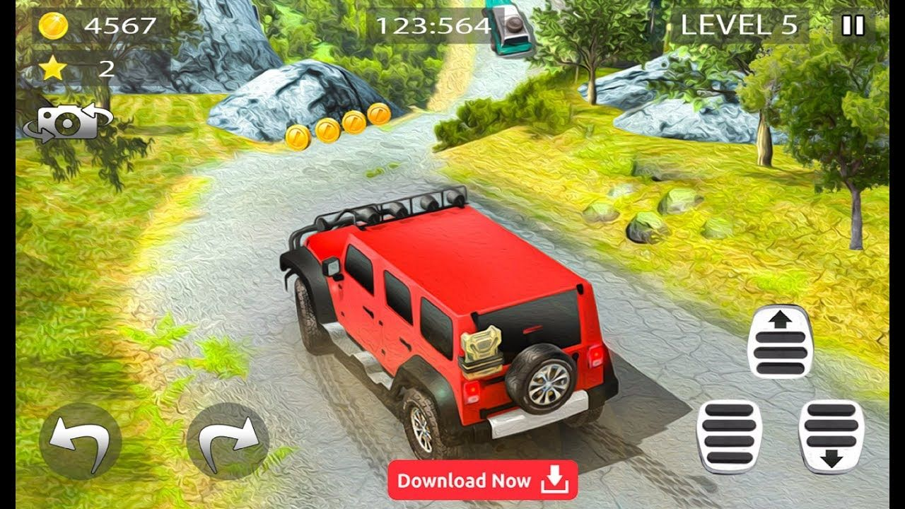 Mountain Climb Mater Racing 4x4 Jeep Driving Simulator Game Android G Best Android Games Jeep 4x4 Best Android