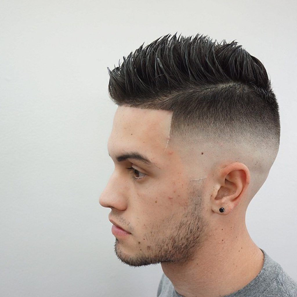 Blend Fade Spikes Hairstyles For Man And Boys Men Fresh Haircuts