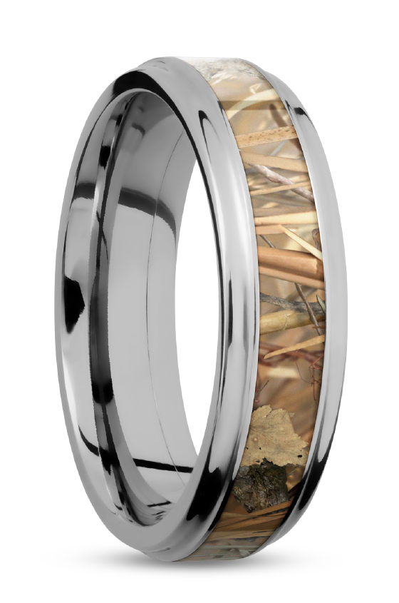 Camo and Titanium. (With images) Rings for men, Wedding