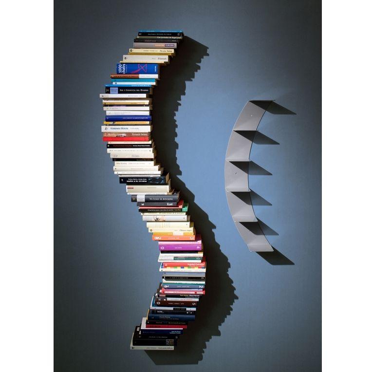 Curvada bookcase bookcases Pinterest Estanterías, Libreros y