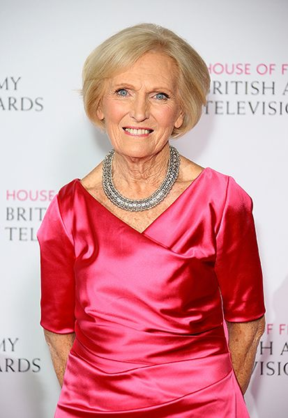 Staying Slim & Healthy. Mary Berry reveals her key to staying slim: discipline and moderation