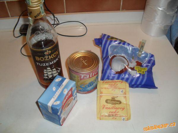 Karamelovo kokosový likér