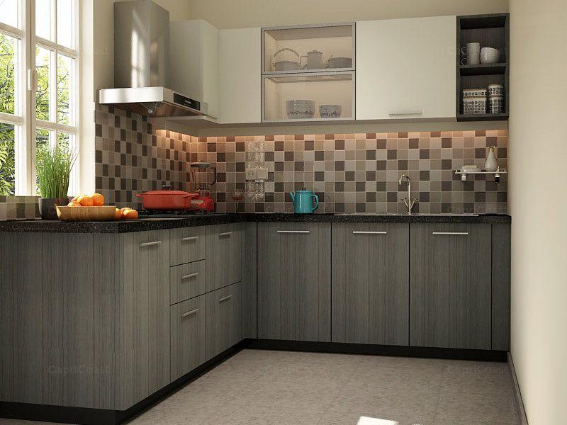 Spinel L Shaped Modular Kitchen L Shapedmodularkitchen L Shapedkitchendesign Modularkitchendesign L Shaped Modular Kitchen Kitchen Design Kitchen