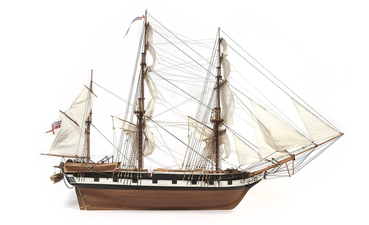 Hms Beagle Occre 1 60 Survey Ship Of Charles Darwin Hms