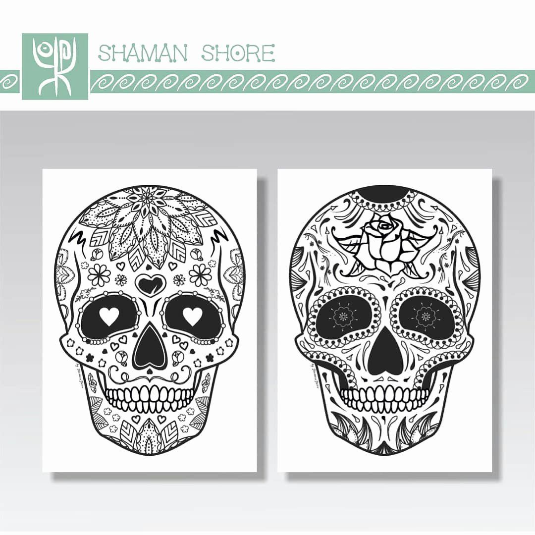 39++ Creepy skull coloring pages information