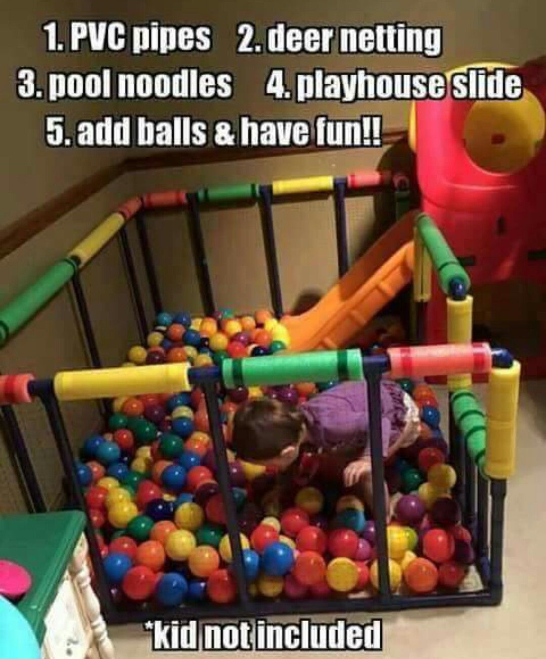 Kid not included
