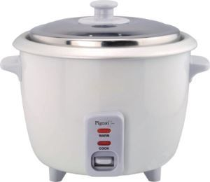 Flipkart offers Pigeon Electric rice cooker only in Rs. 999 only. You know Petrol, Diesel, Gas are environmental product and these will be end in future if we use these products as we are currently using. So its time to switch some other products which can be produced by human being and no dependent on … Continue reading Pigeon Electric Rice Cooker with Steaming Feature