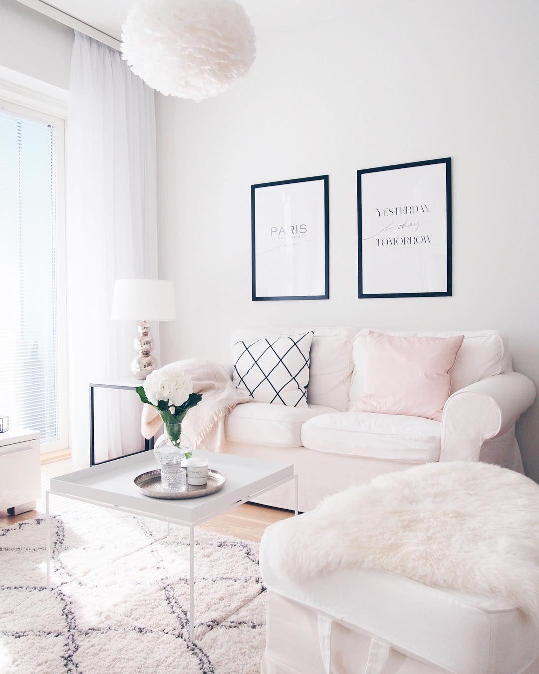 juliaakristiinaa •  pink living room living room