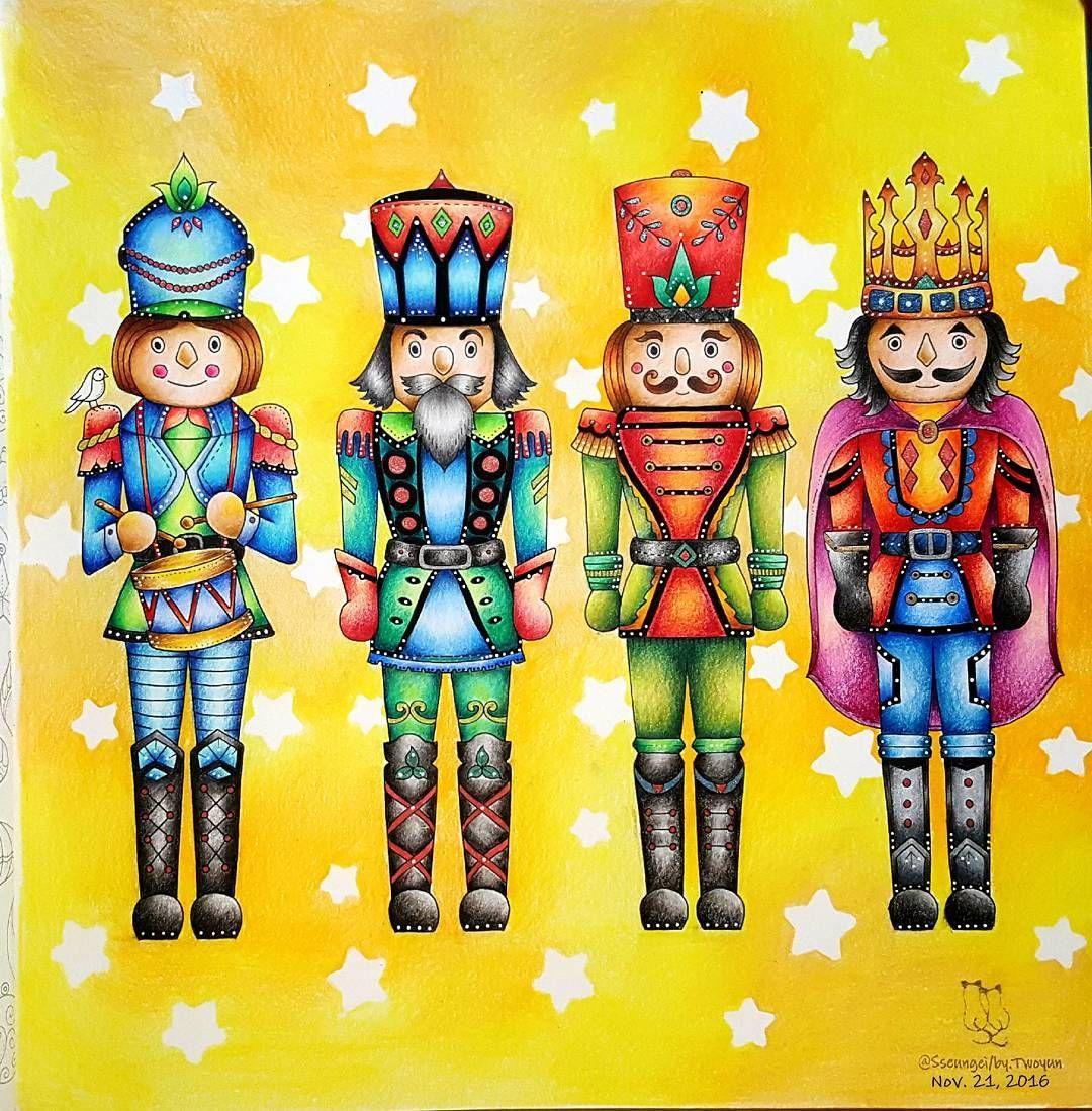 South korea coloring book - Gef Llt 662 Mal 36 Kommentare Twoyun S South Korea Sseungei Adult Coloringcoloring Booksprismacolornutcrackerscolored