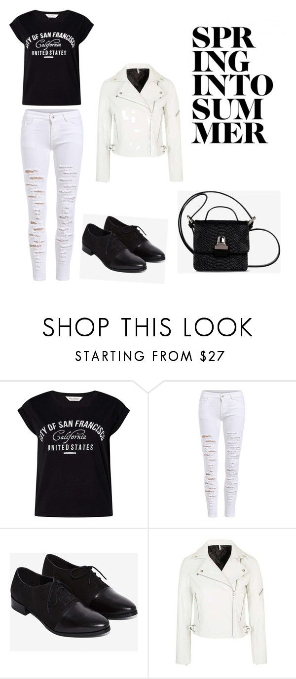 """""""State of mind"""" by directioner1706 ❤ liked on Polyvore featuring Miss Selfridge, Topshop and MM6 Maison Margiela"""