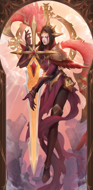 Artstation Kayle Iron Inquisitor Miea Mie Lol League Of Legends Lol Champions League Of Legends