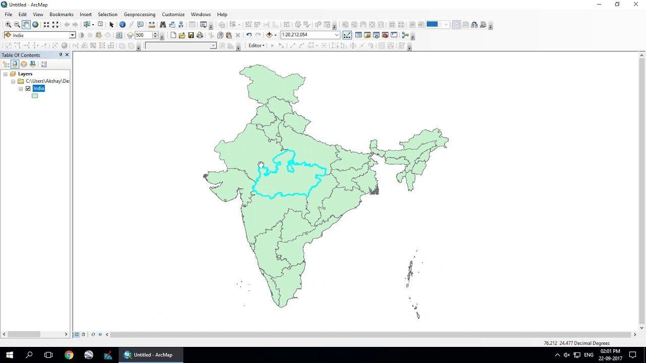 ESRI ArcGIS Shape File Extraction | Geospatial / GIS