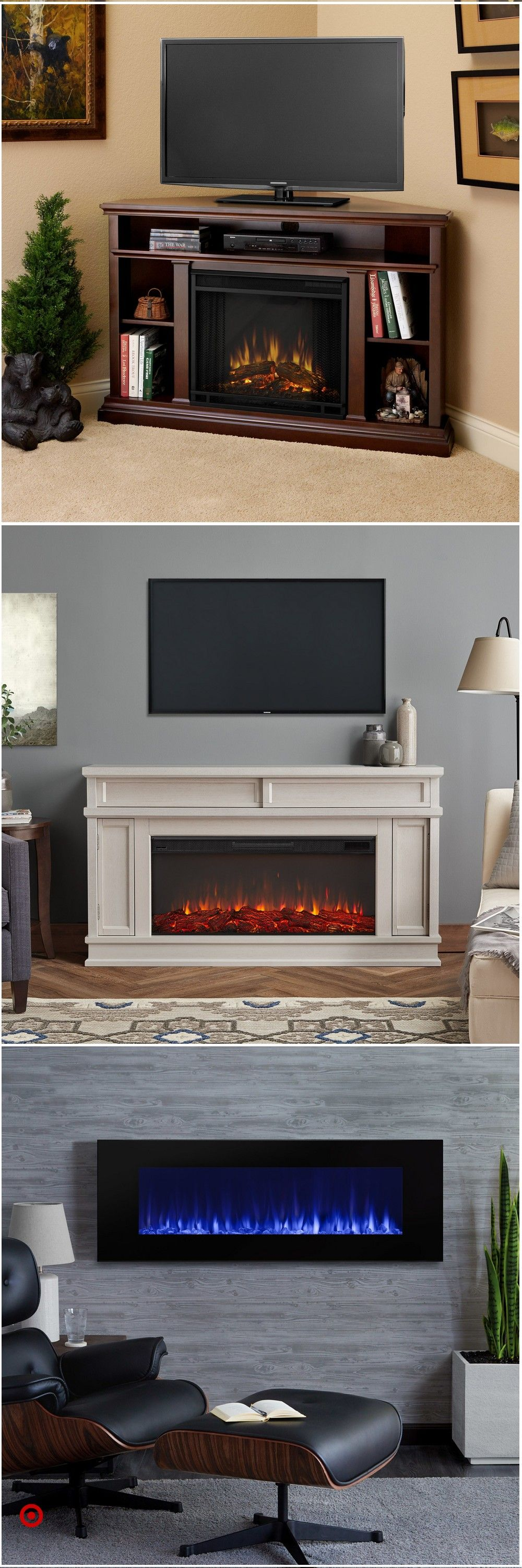 Shop Target For Decorative Fireplaces You Will Love At Great Low Prices Free Shipping On Orders Of 35 Fireplace Decor Home Cinema Room Family Room Design