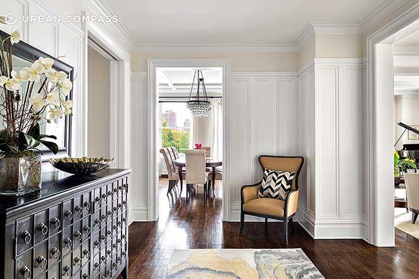 Upper West Side apartment dressed in opulent sophistication