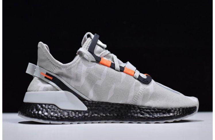 Mens Adidas Nite Jogger Boost Grey Black Orange Sneakers Men Fashion Adidas Men Sneakers Men