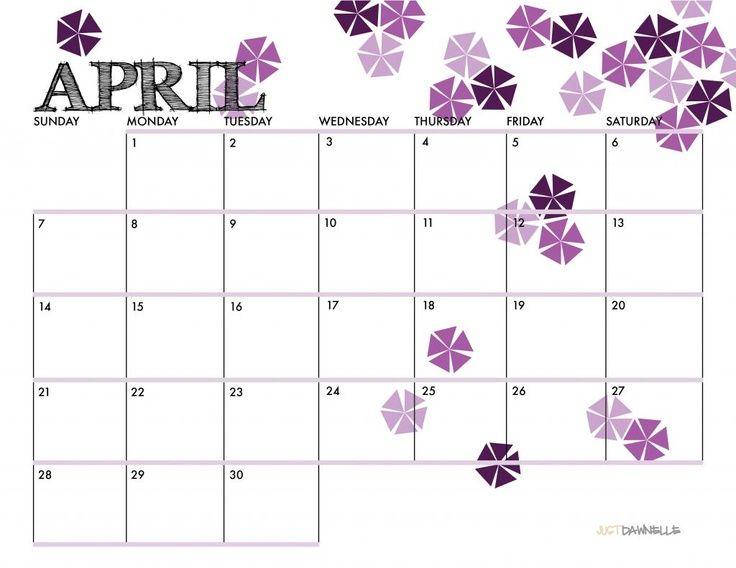 Cute April 2016 Calendar Happy Classroom projects Pinterest