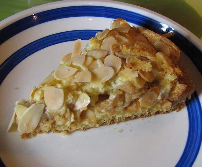 Apfelkuchen Mit Mandel Zimt Streusel Rezept Apfelkuchen Mit Mandeln Rezepte Kuchen