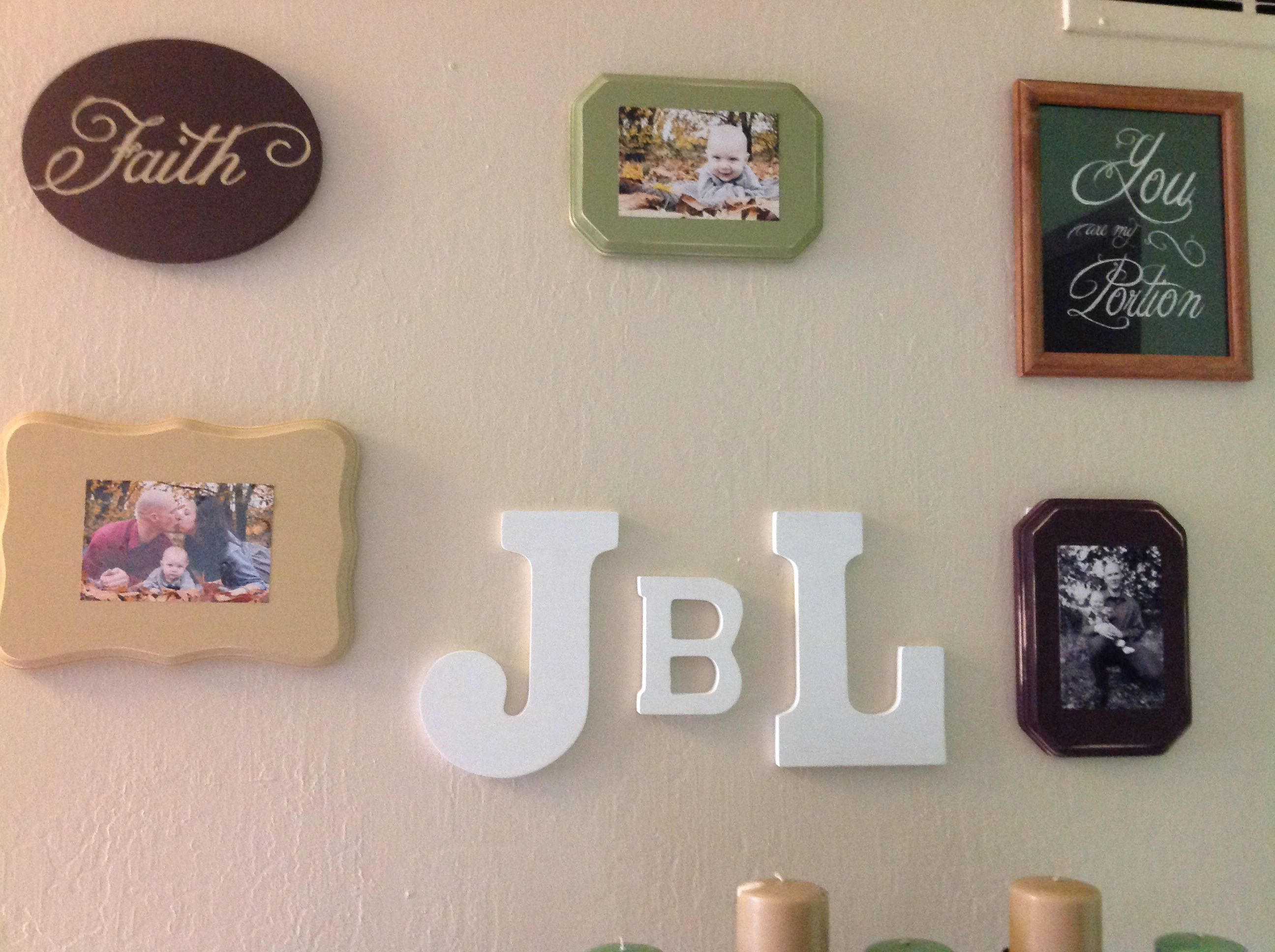 Wood plaques from hobby lobby and mod podge simply paint plaque