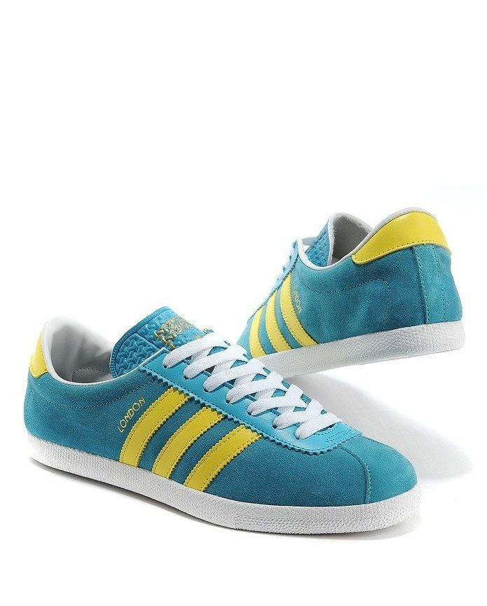 adidas Originals London  2012 Olympics Pack   Turquoise Yellow ... d8be5fc10