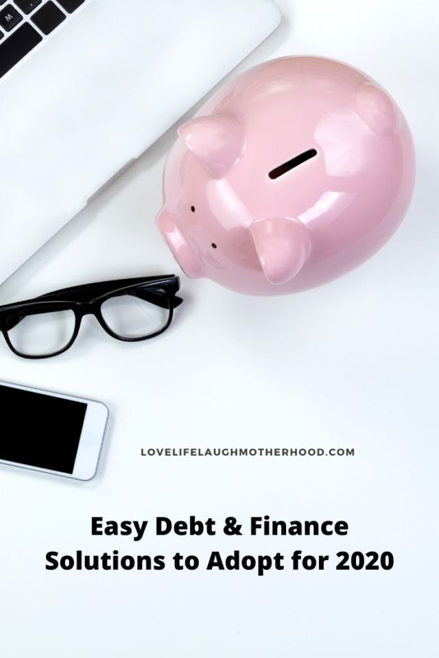 Easy Debt  Finance Solutions To Adopt For 2020 Easy Debt  Finance Solutins To Adopt in 2020