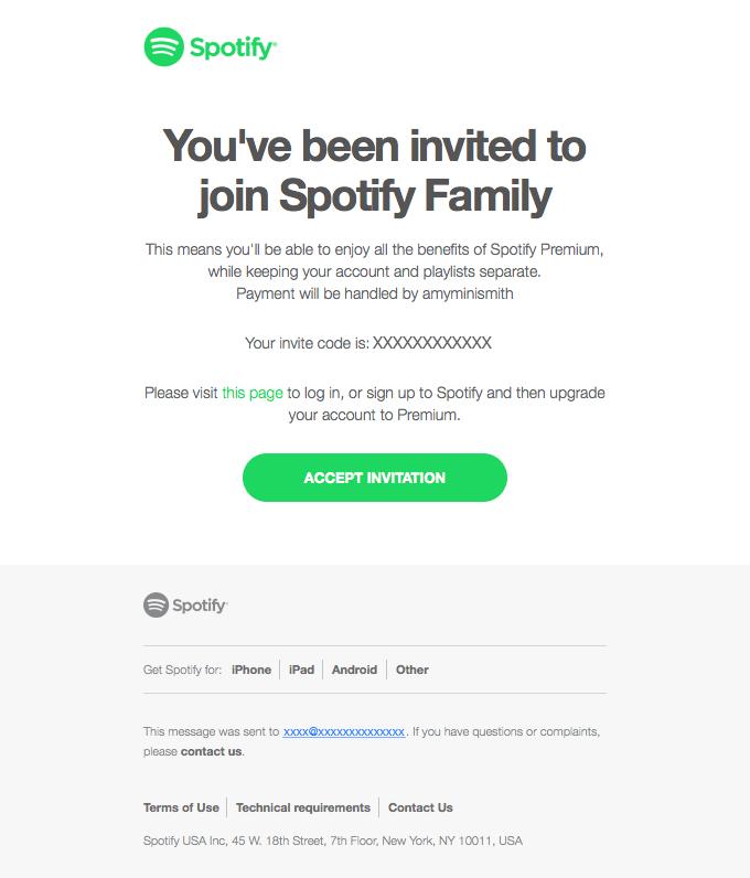 Worldwide ???? Family Invite Spotify ⭐ Premium Subscription Upgrade