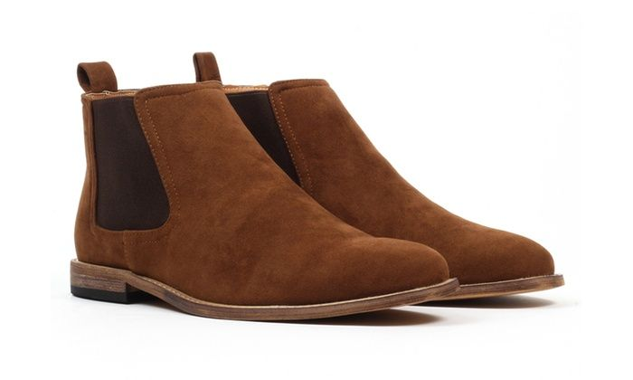 db34a07b630 Gino Pheroni Calvin Men's Chelsea Boots | Groupon Deals | Chelsea ...