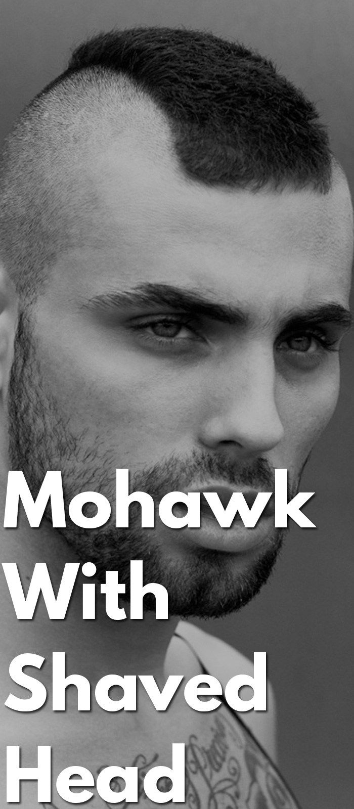 How to get the look u mohawk with shaved head pinterest mohawks