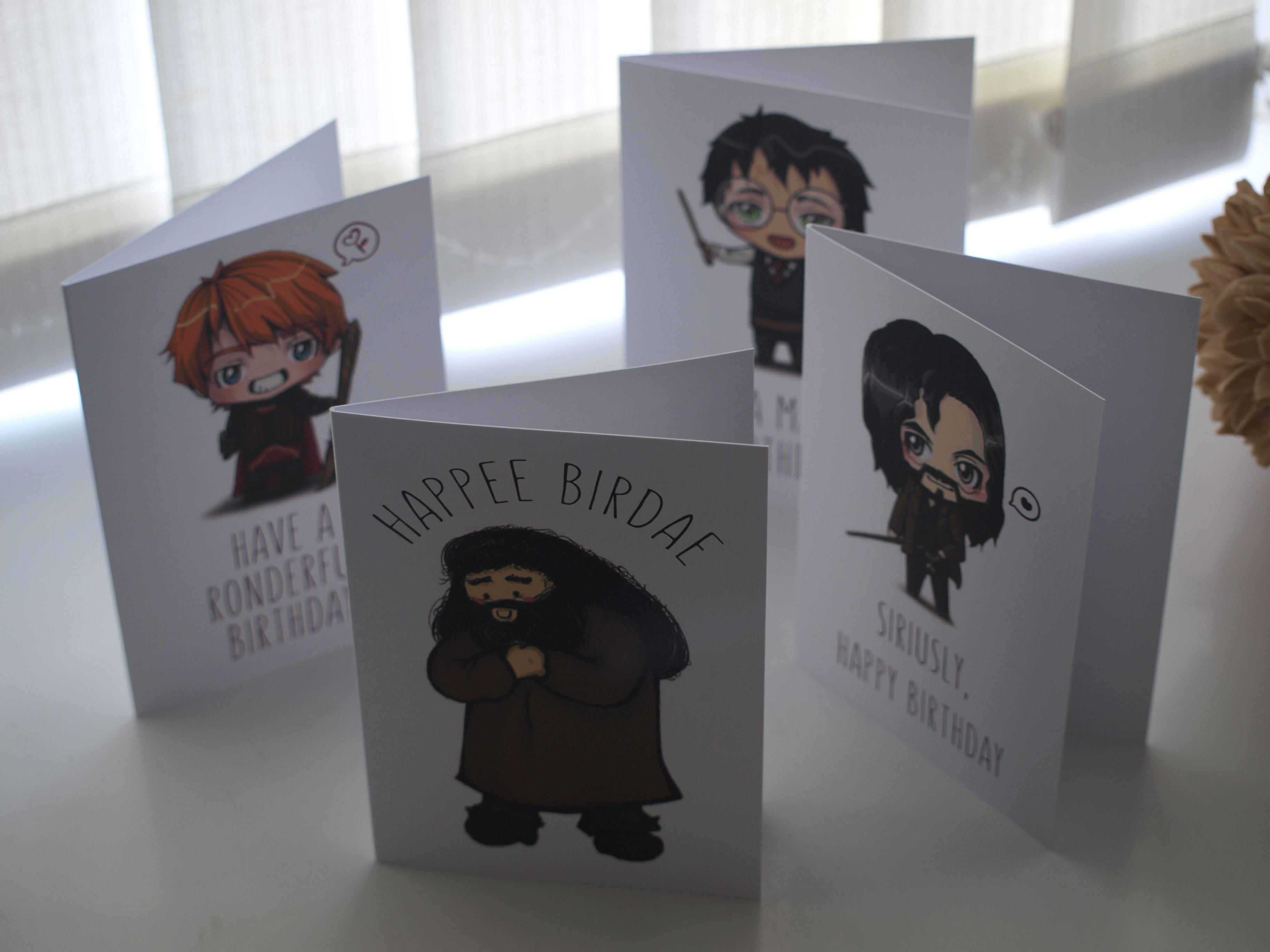 Sirius Black - Harry Potter Birthday Card - \