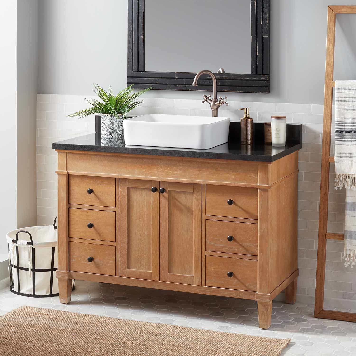 48 Marilla Vessel Sink Vanity Vessel Sink Vanities Bathroom