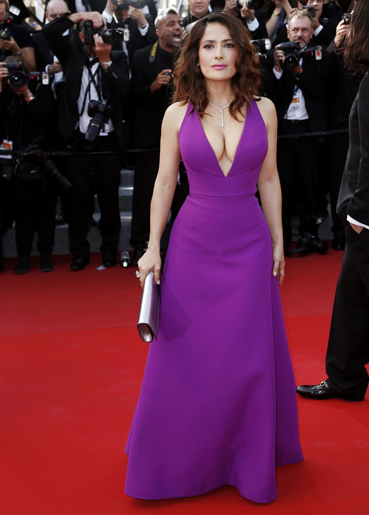Salma Hayek - Gucci | Gorgeous Gowns | Pinterest | Artistas