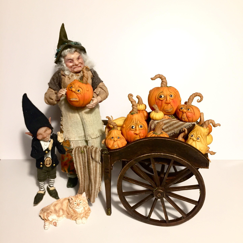 Michaeks 2020 Halloween Miniatures Pumpkin cart by Michael R Miniatures in 2020 | Miniatures, Unique